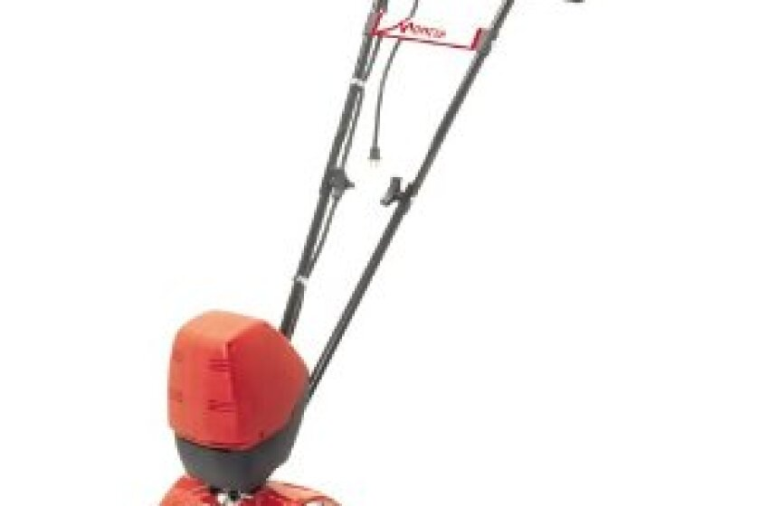 Mantis 7250-15-02 Electric Tiller with Border Edger