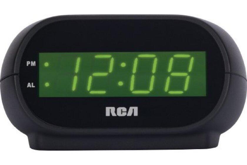 RCA RCD20 Alarm Clock
