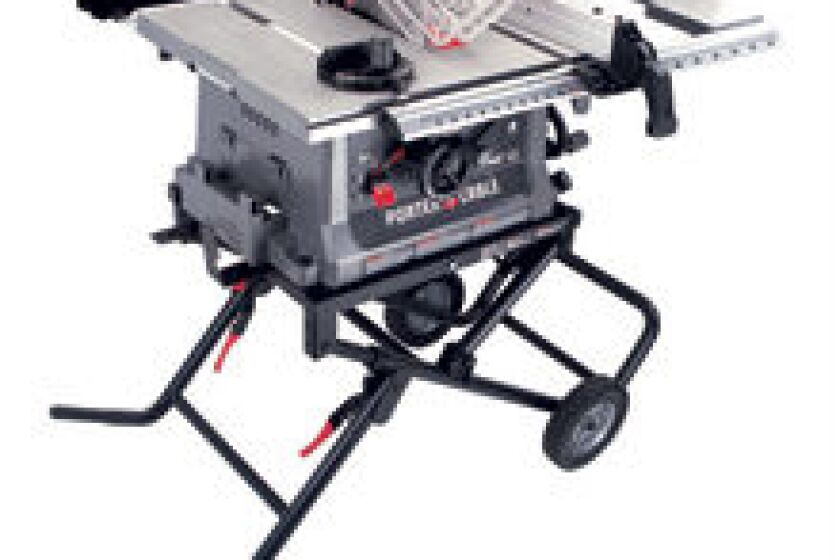 """Porter Cable PCB 220TS 10"""" JobSite Table Saw"""