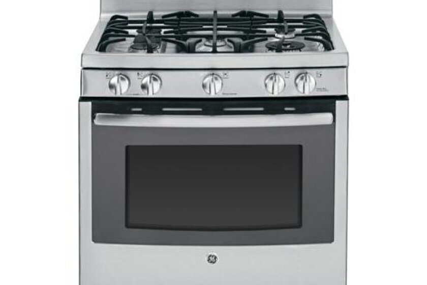 "GE 30"" Stainless Steel Gas Sealed Burner Range - PGB945SEFSS"