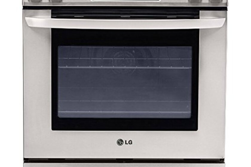 "LG  30"" Stainless Steel Smoothtop Electric Slide-In Range - LSE3090ST"