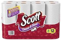 Scott Paper Towels, Choose-A-Sheet, Mega Roll - 8 Count