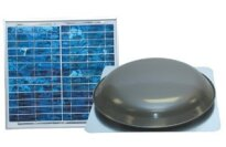 Ventamatic Solar Powered Roof Attic Ventilator Model VX1000SOLARWG