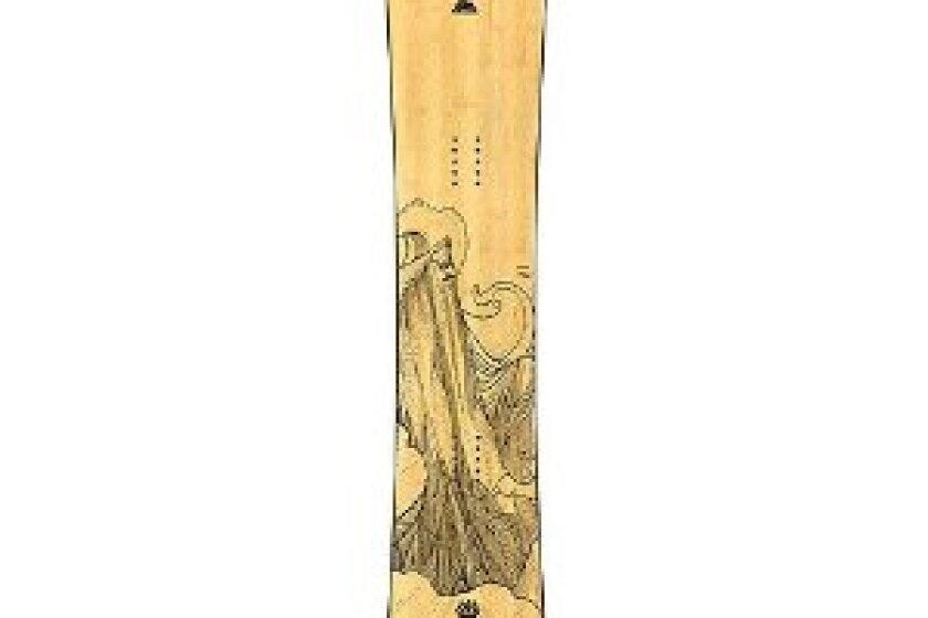 The Flagship Snowboard by Jones Snowboards