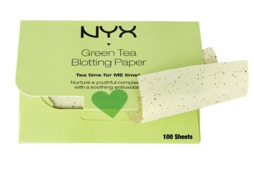 NYX Green Tea Blotting Paper
