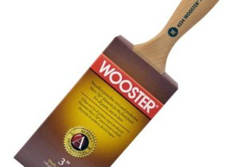 Wooster Alpha 3 Inch Oval Paint Brush, #4234
