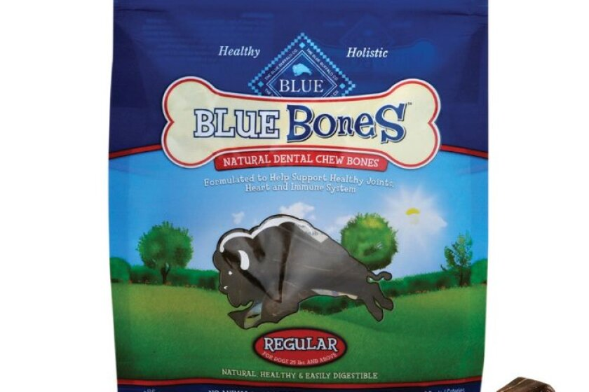 Blue Buffalo Blue Bones Natural Dental Chews