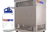 Steam Pure Stainlsee Steel Counter Top Water Distiller