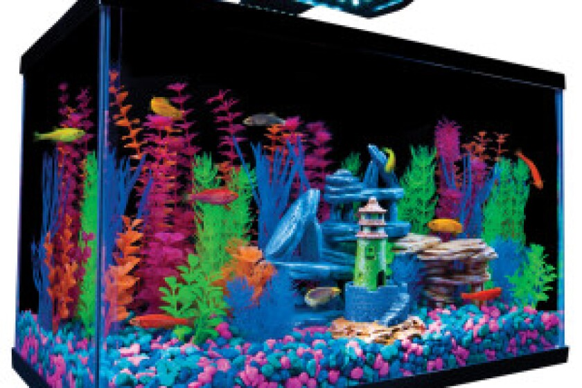 Tetra GloFish Boxed Kit 10 Gallon Aquarium