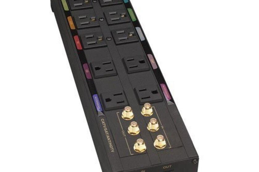 Tripp Lite Isobar 10-Outlet Home/Business Surge Protector (HT10DBS)