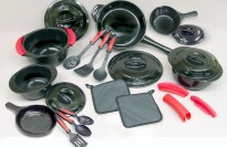 Xtrema 24 Piece 100% Ceramic (Non Scratch) Cookware Set
