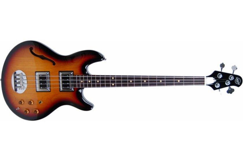 Lakland Hollowbody Bass Guitar