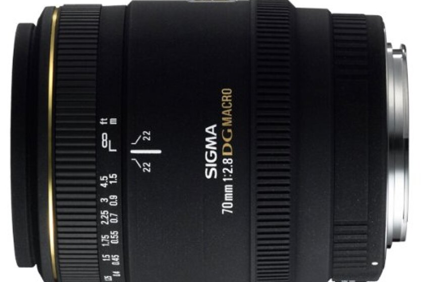 Sigma 70mm EX DG Lens for Nikon