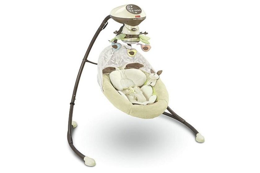 best Fisher-Price My Little Snugabunny Baby Swing