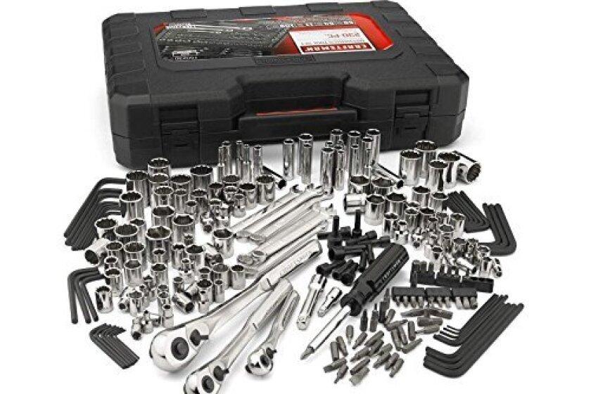 Craftsman 230 Piece SAE Metric Mechanics Tool Set