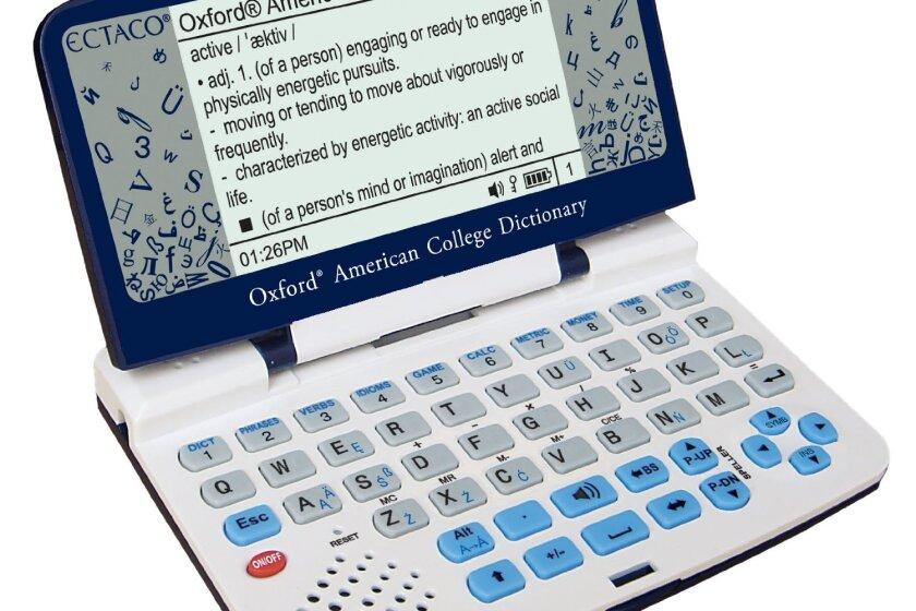 Ectaco 500AL Oxford Multi-Language Electronic Translator