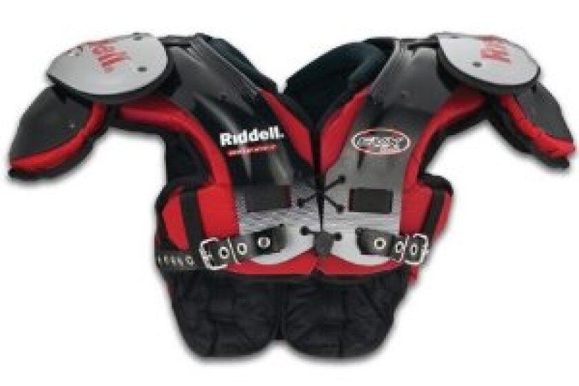 Riddell EVX 18Y Youth Football Shoulder Pads