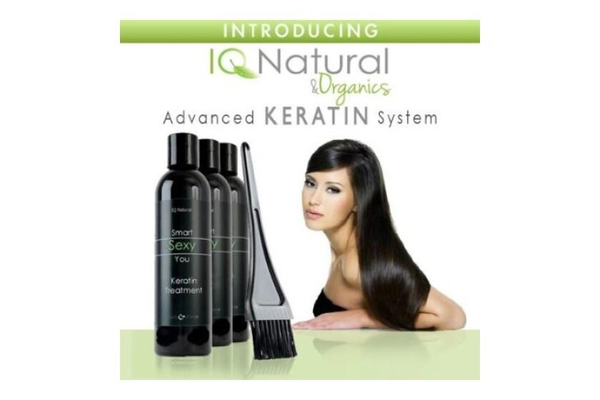 best IQ Natural Advanced Keratin Straightening System