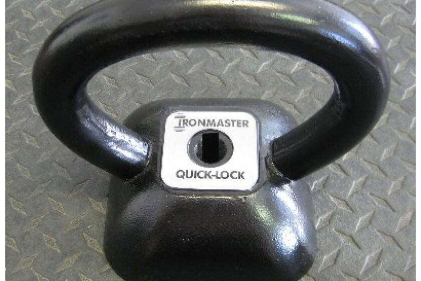 Iron Master Quick Lock Kettlebell