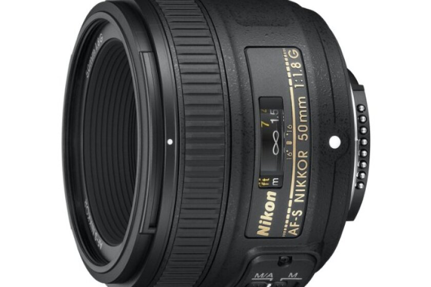 Nikon AF-S Nikkor 50mm f/1.8G  Fixed Lens