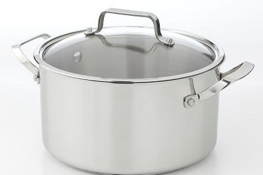 Bobby Flay 6-qt. Stainless Steel Dutch Oven