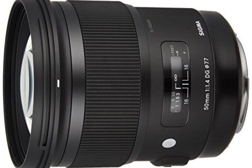 Sigma 50mm F1.4 DG HSM Art Lens for Canon Cameras