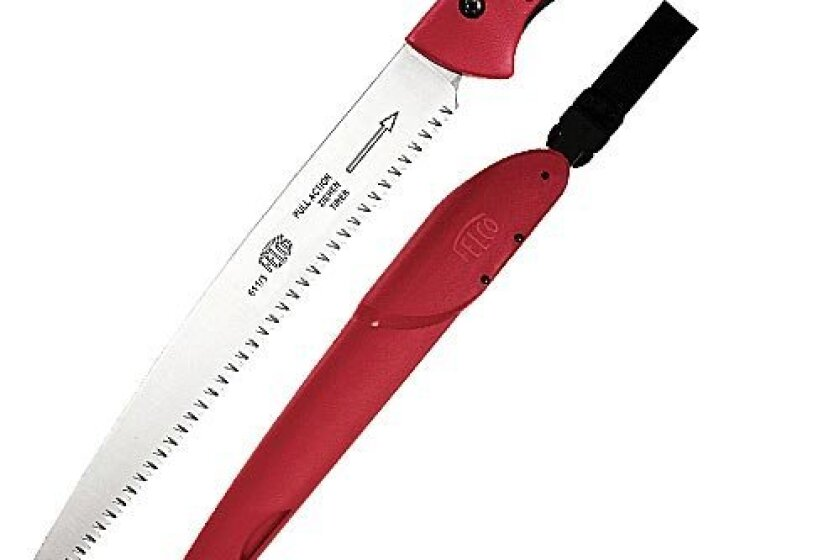 "Felco Model 611 Pruning Saw with Sheath, 13"" Straight Blade"