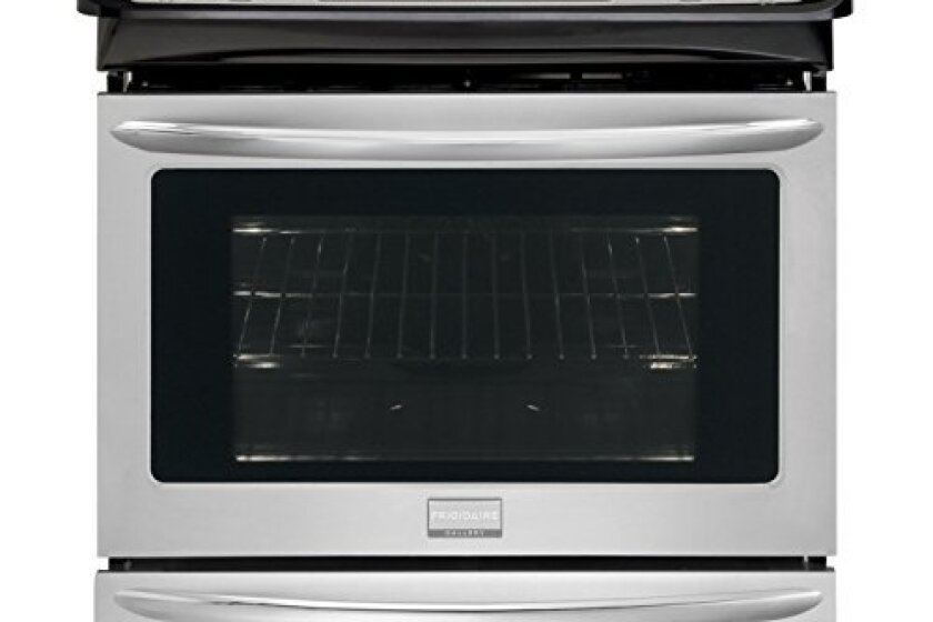 "Frigidaire 30"" Stainless Steel Electric Slide-In Smoothtop Range - FGES3065PF"