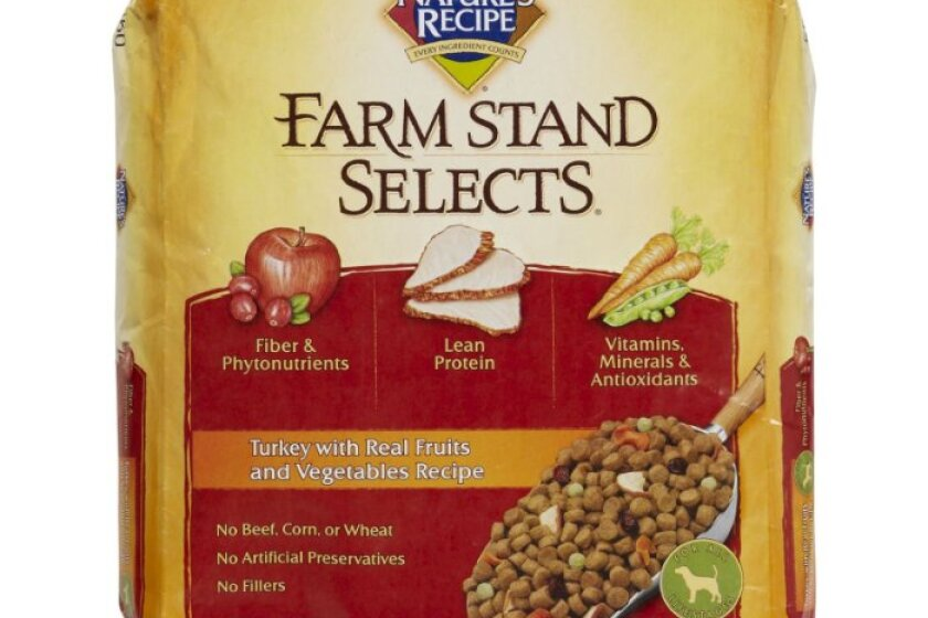 Nature's Recipe Farm Stand Selects Turkey With Real Fruits & Vegetables Dry Dog Food