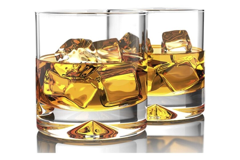 Best Crystal Old Fashioned Whiskey Glass Set