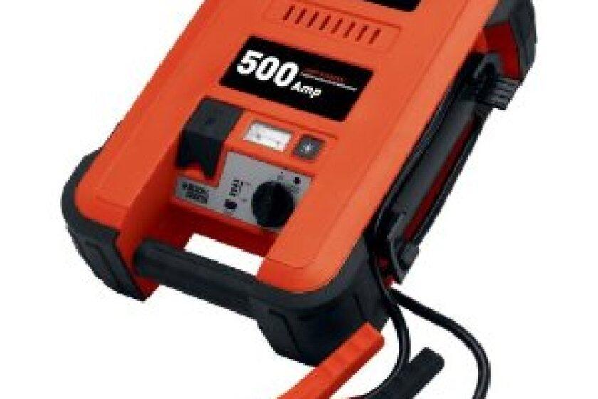 Black & Decker JUS500B 500 Amp Jump Starter