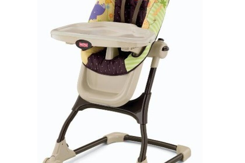 Fisher-Price Luv U Zoo EZ Clean High Chair