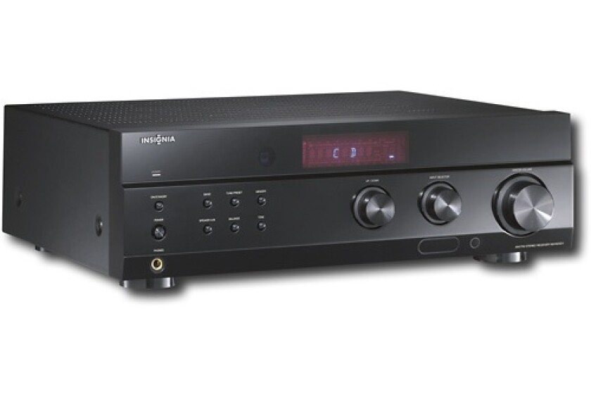 Insignia NS-R2001 200W 2.0 Channel Stereo Receiver