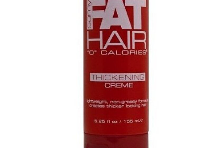 "Samy Fat Hair ""0"" Calories Thickening Creme"