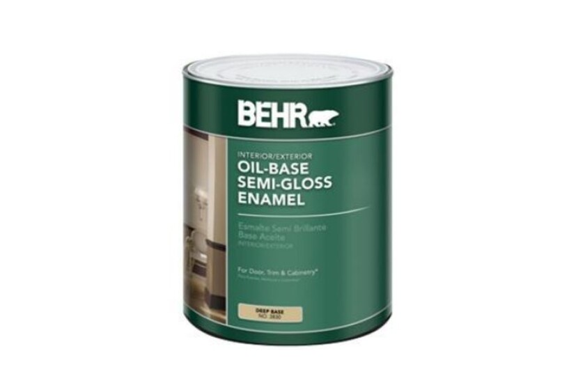 best Behr Oil-Base Semi-Gloss Enamel Paint
