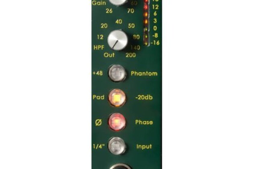 Daking Mic Pre 500 Single-Channel Microphone Preamp