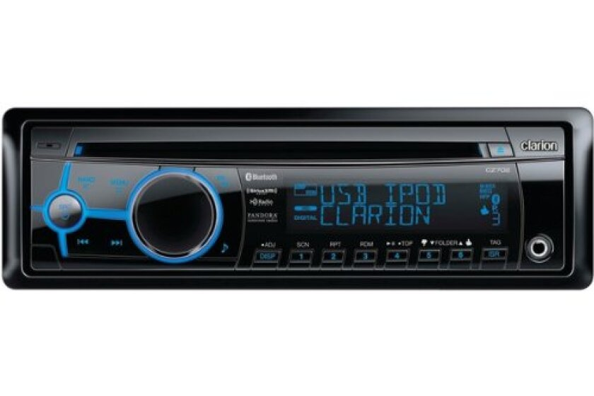 Clarion CZ702 Vehicle CD Digital Music Player Receiver