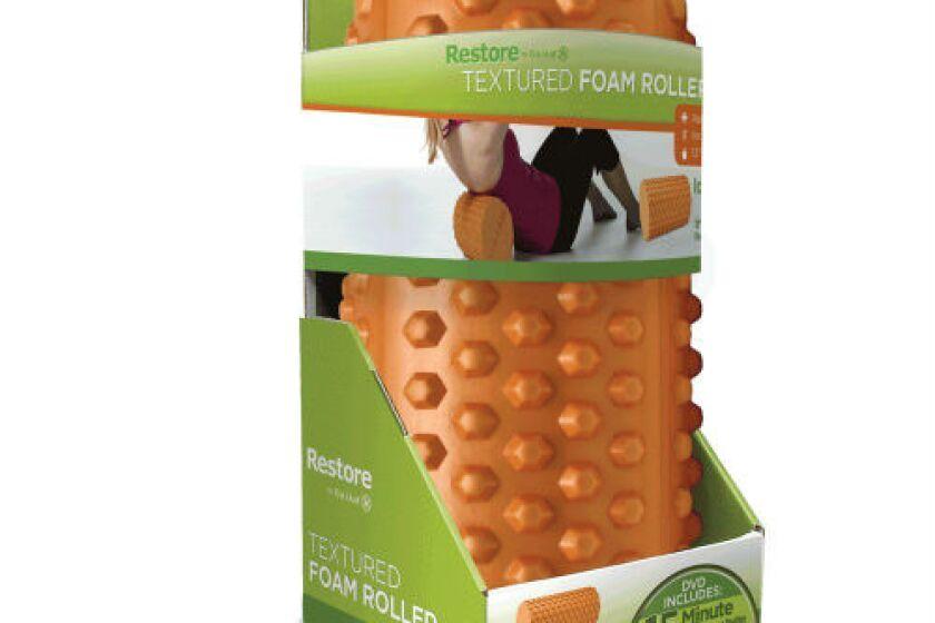 Gaiam Restore Textured Foam Roller Kit