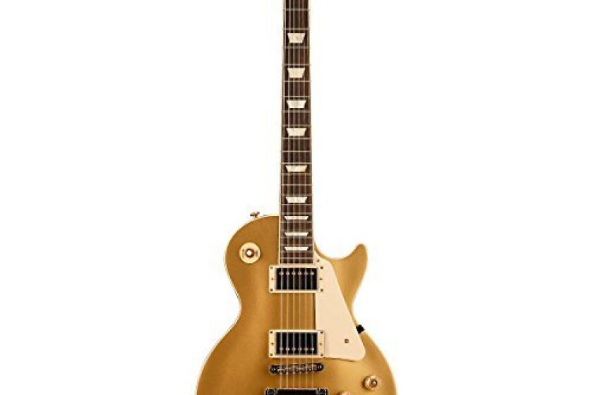 Gibson Les Paul Standard Electric Guitar Gold Pearl