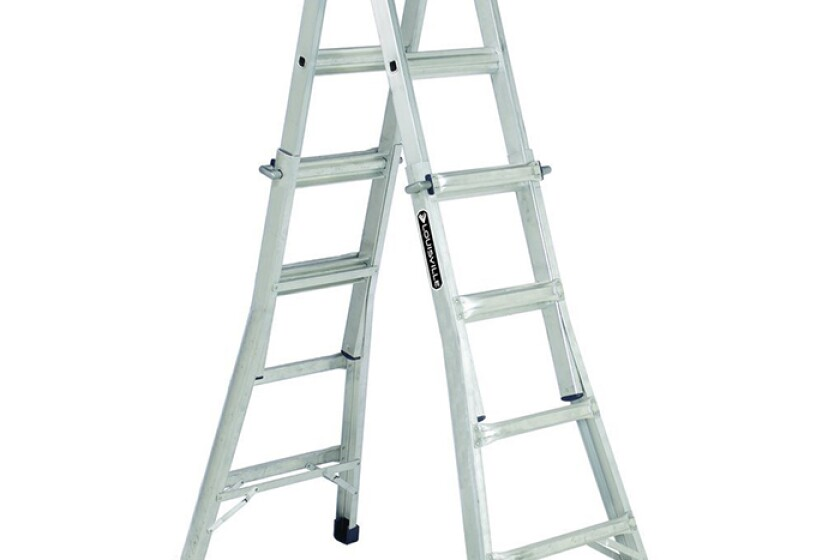 Werner Ladder Lousville Ladder #L-2094-17 17' Aluminum IA MP Ladder