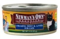 Newman's Own Can Cat Food