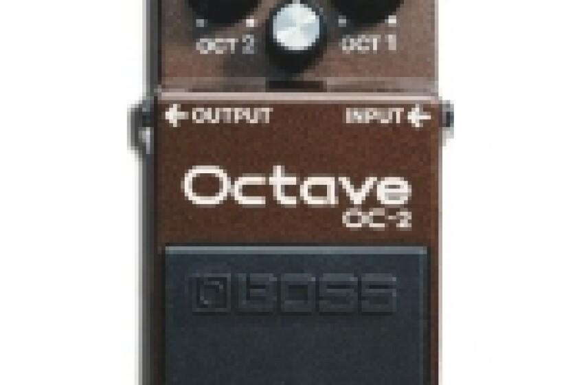 Boss OC-2 Pedal