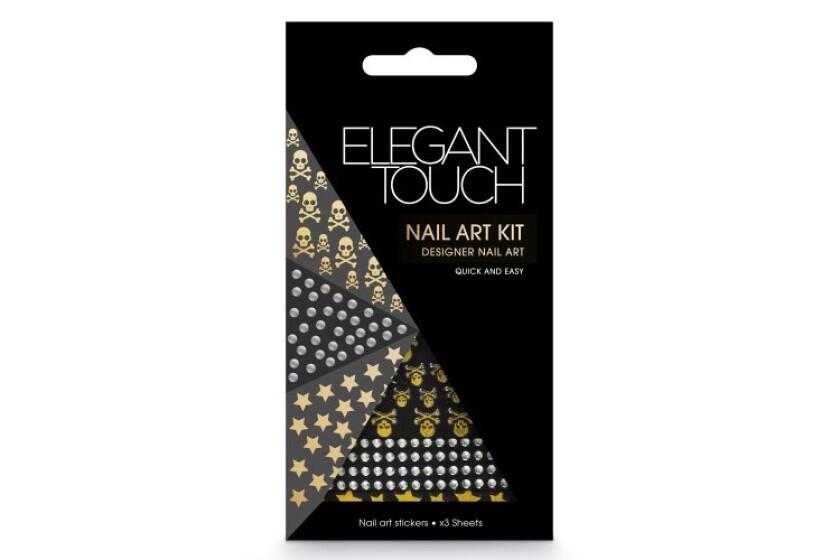 best Elegant Touch Nail Art Kit-Skulls, Stars and Diamonds
