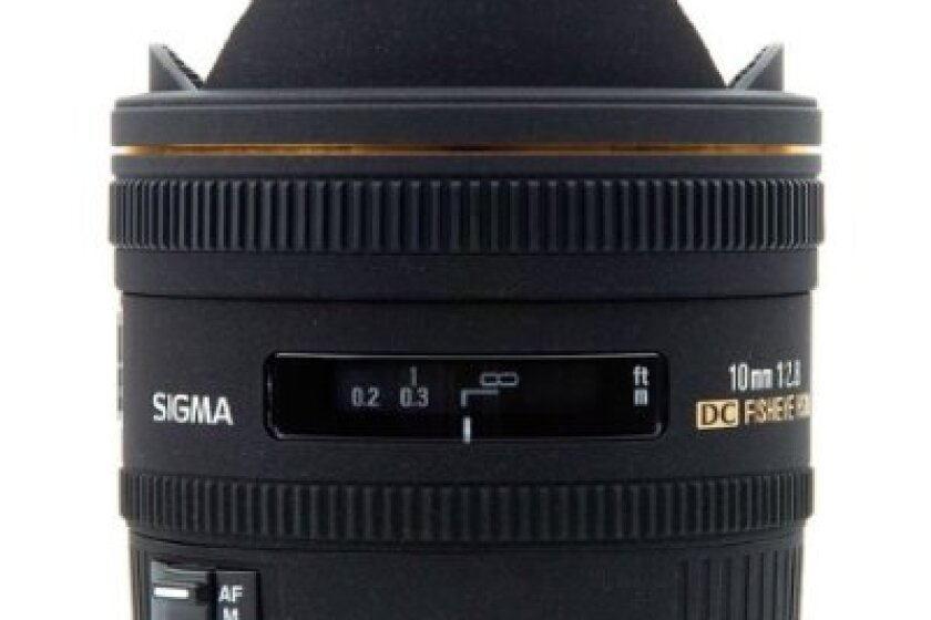 Sigma 10mm f/2.8 EX DC HSM Fisheye Lens for Nikon Digital Cameras