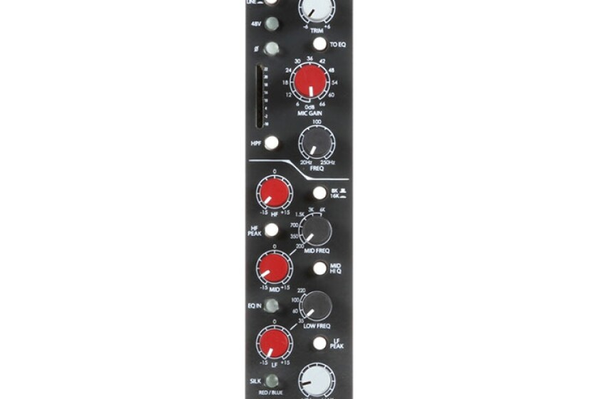 Rupert Neve Designs Shelford 5052 Mic Pre/Inductor EQ