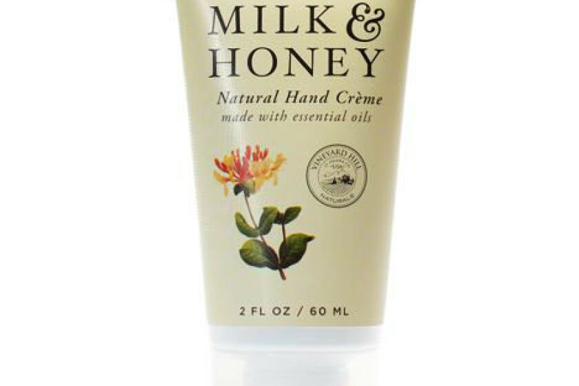 Vineyard Hill Naturals Hand Cream Milk & Honey