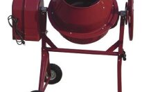 Northern Industrial Portable Electric Cement Mixer 4.1 Cubic Ft., Model# CM305A
