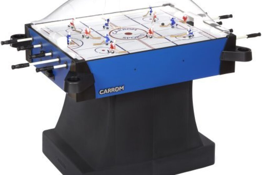 Carrom 435.01 Signature Stick Hockey Table with Pedestal