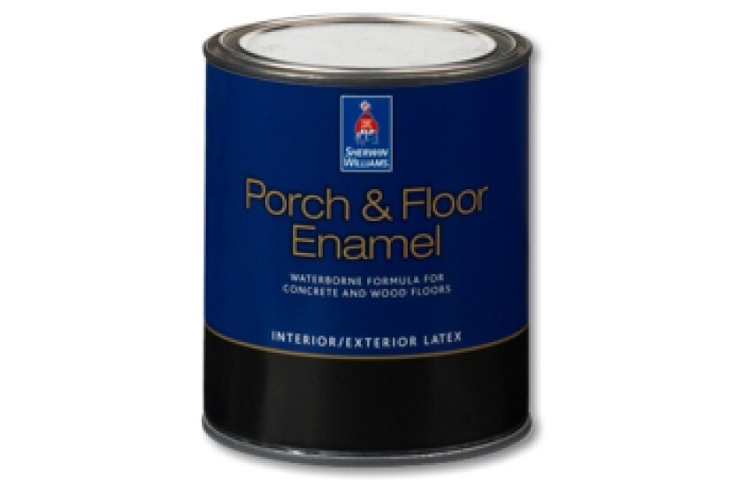 Sherwin-Williams Floor & Porch Enamel