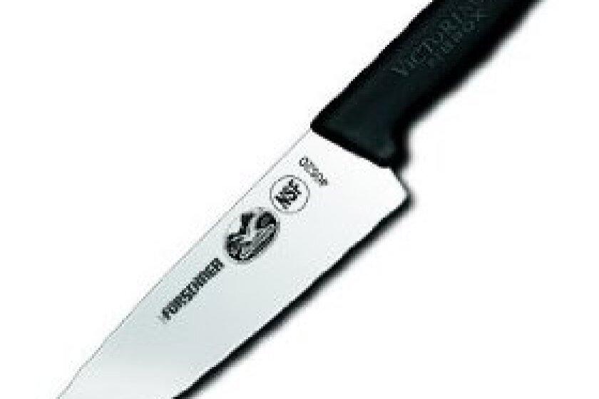 Victorinox Cutlery 8-Inch Chef's Knife, Black Fibrox Handle